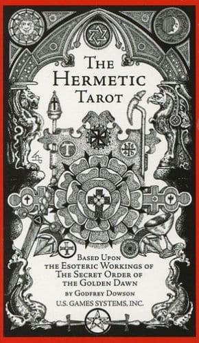 Hermetic Tarot by Dowson, Godfrey