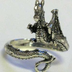 Beautiful Dragon Adjustable Ring