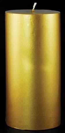 Beautiful Gold Prosperity Candle